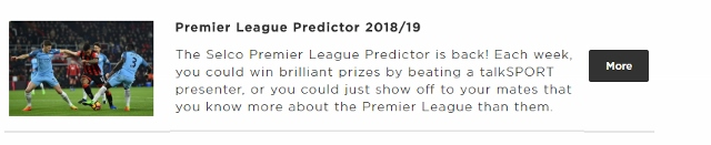 The Foxes Trust Predictor League 2018-19 – 4 Days To Go