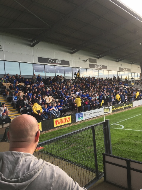 City Fans at a previous pre season friendly in 2017